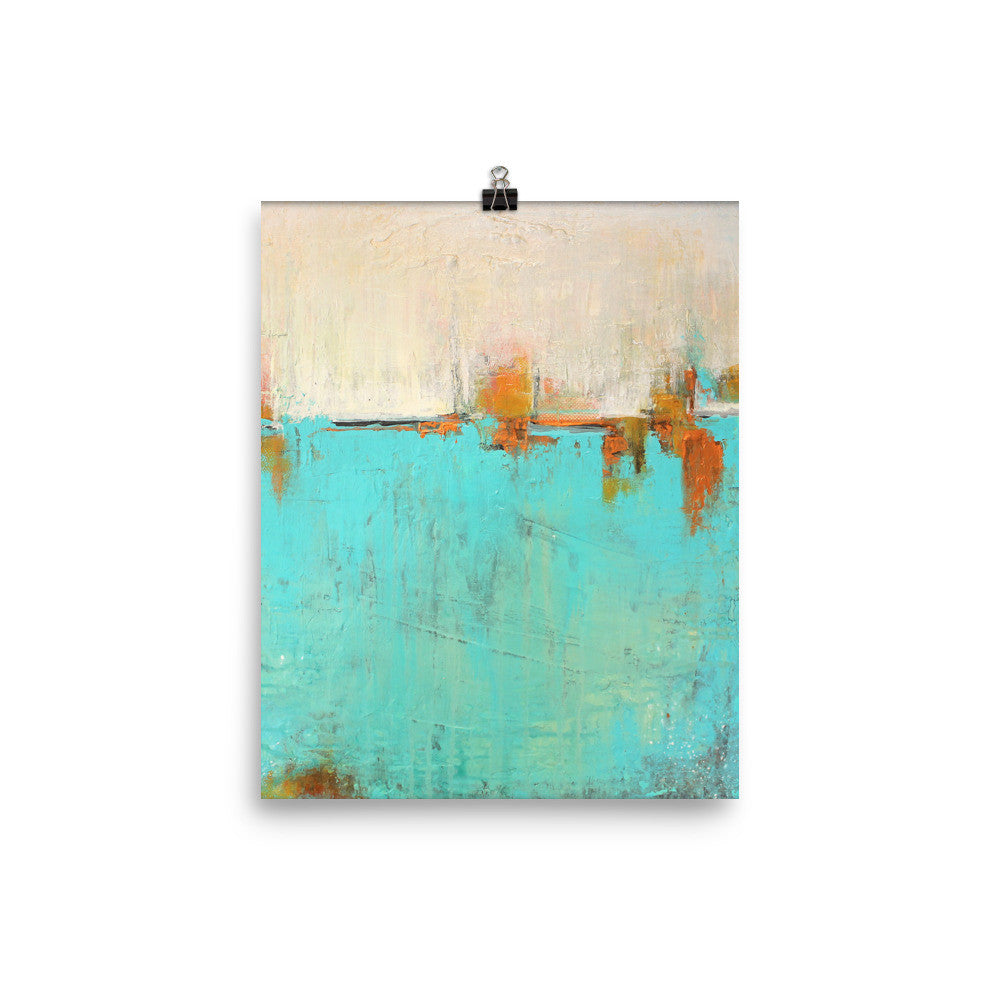 Sea of Whispers - Fine Art Poster Print - The Modern Home Co. by Liz Moran