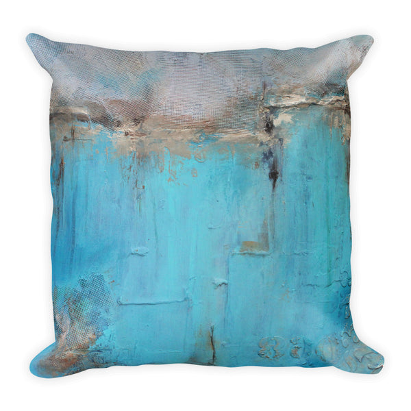 Blue and White Decorative Pillow - The Modern Home Co. by Liz Moran