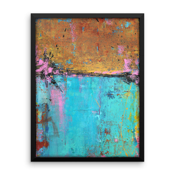 Montego Bay - Framed Art Print - The Modern Home Co. by Liz Moran