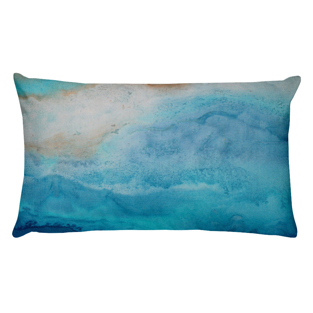 Beach Layers - Lumbar Pillow - The Modern Home Co. by Liz Moran