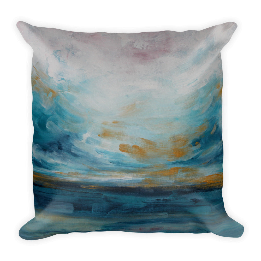 Out to Sea - Nautical Throw Pillow - The Modern Home Co. by Liz Moran
