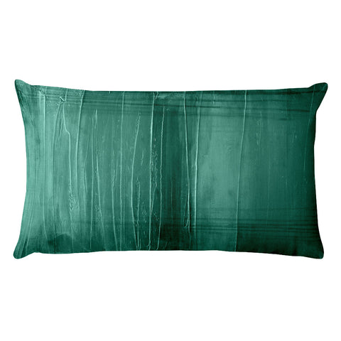 Lagoon - Teal Lumbar Pillow