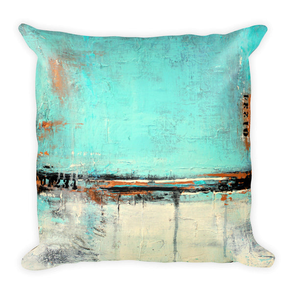 Urban Abstract Throw Pillow - The Modern Home Co. by Liz Moran