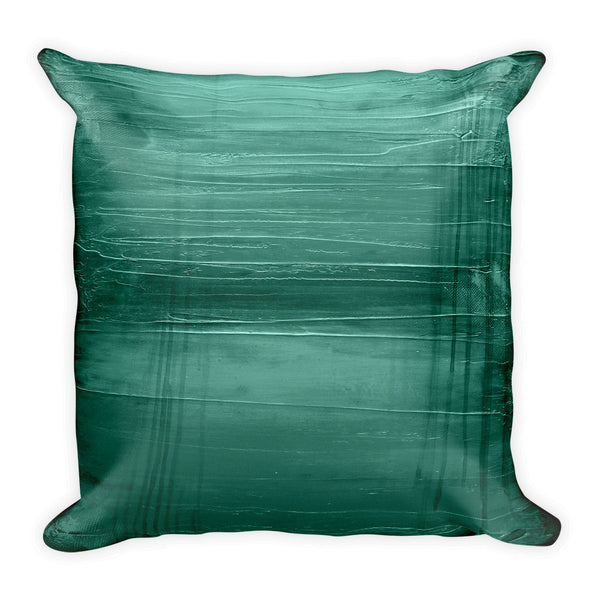 Teal Throw Pillow - The Modern Home Co. by Liz Moran