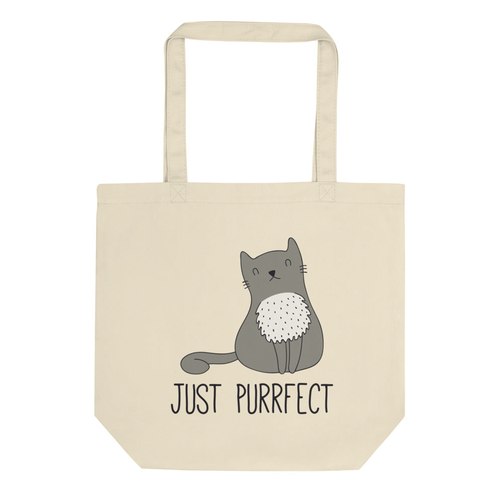 Purrfect - Eco Tote Bag - The Modern Home Co. by Liz Moran