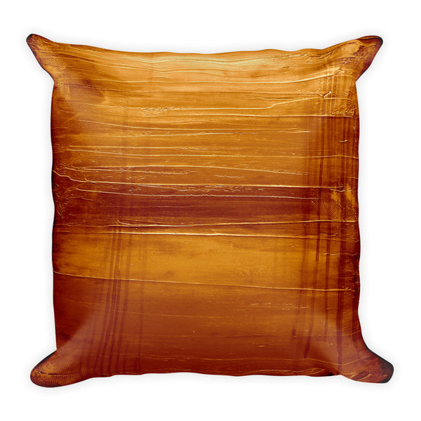 Golden Orange Pillow - The Modern Home Co. by Liz Moran