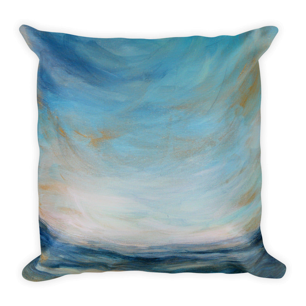 View from Port Side - Decorative Pillow