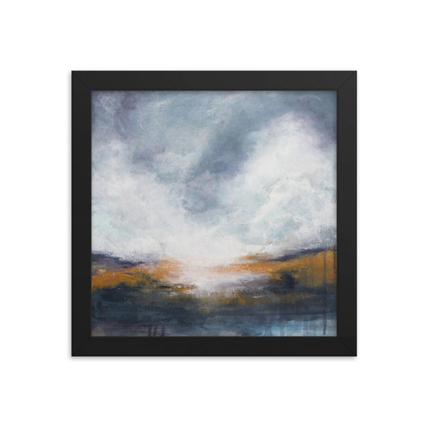 Morning Mist - Framed Poster Print - The Modern Home Co. by Liz Moran