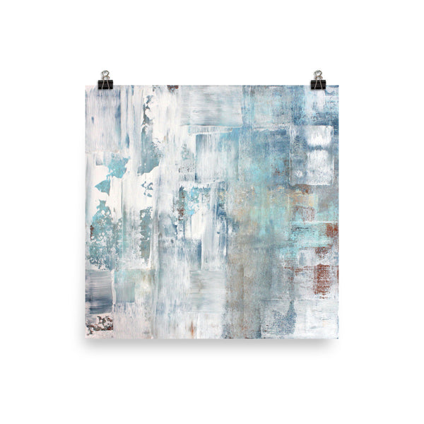 Frost - Modern Poster Print - The Modern Home Co. by Liz Moran