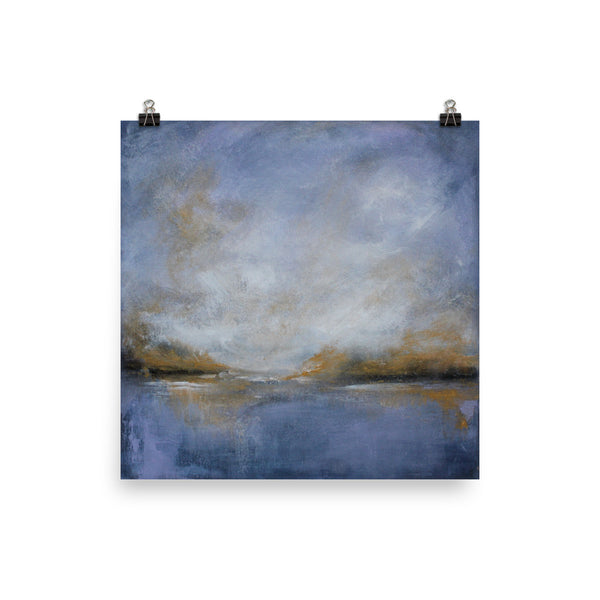 "Contemporary Landscape Art Print ""Hope"" - The Modern Home Co. by Liz Moran"