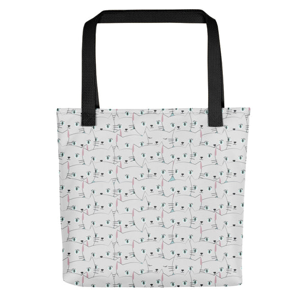 Cat Faces - Tote bag - The Modern Home Co. by Liz Moran