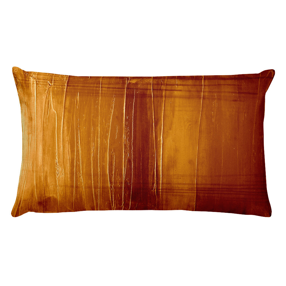 Burnt Orange - Lumbar Pillow