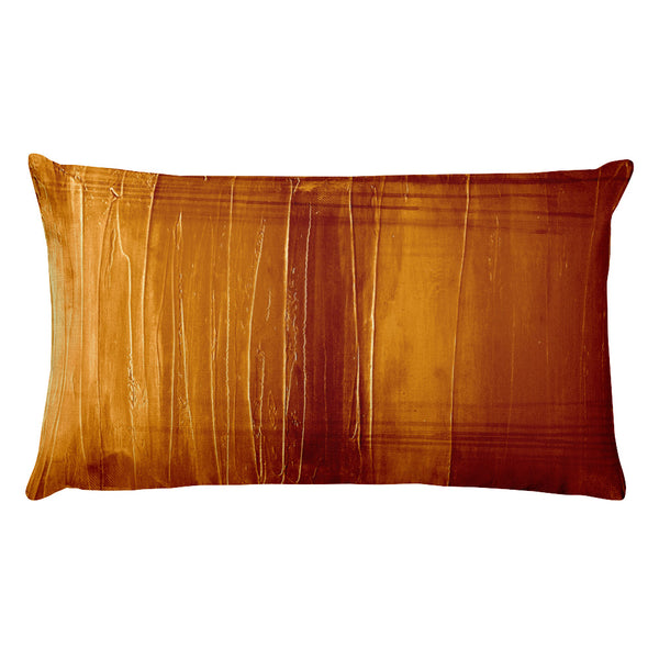 Burnt Orange - Lumbar Pillow - The Modern Home Co. by Liz Moran