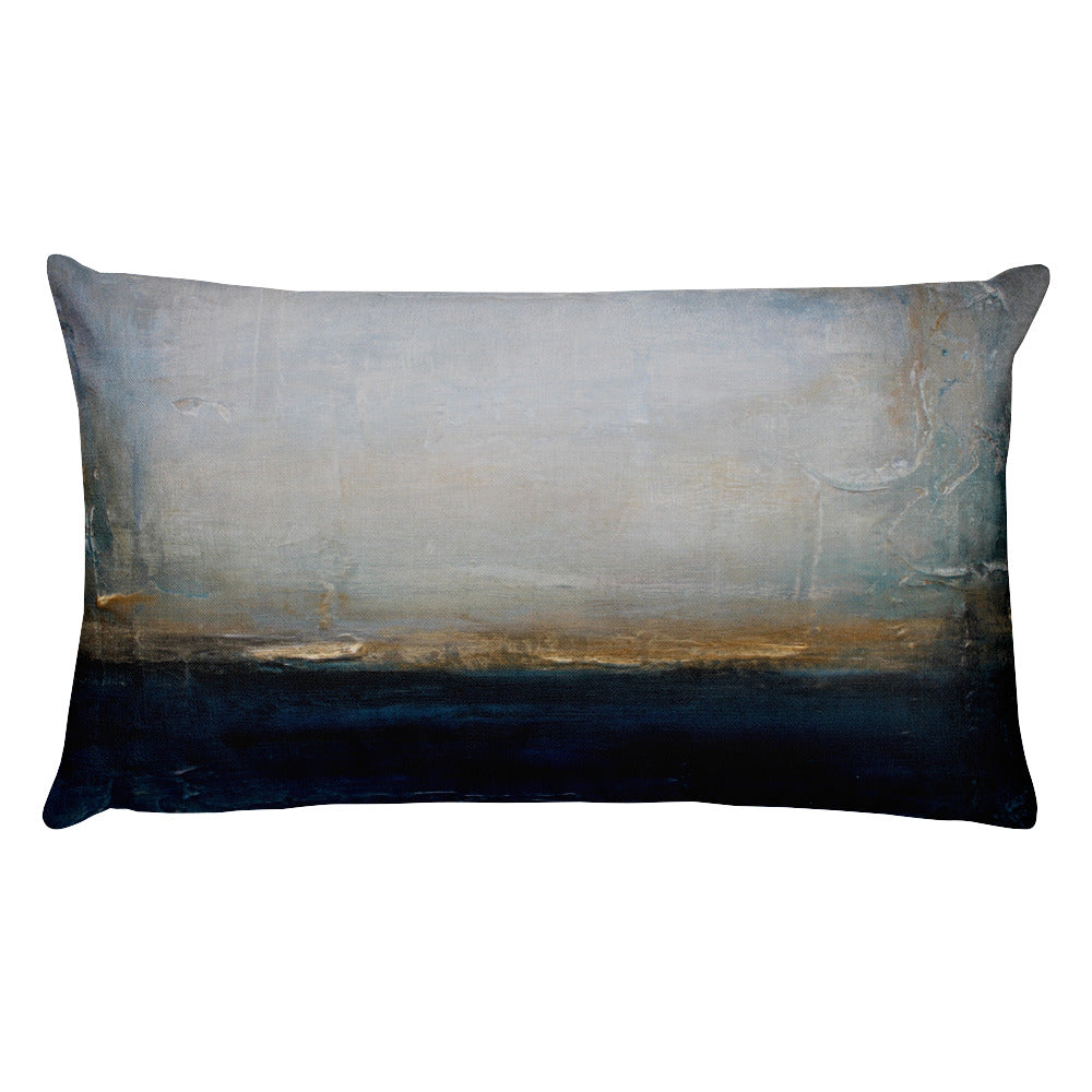 Midnight - Lumbar Pillow - The Modern Home Co. by Liz Moran