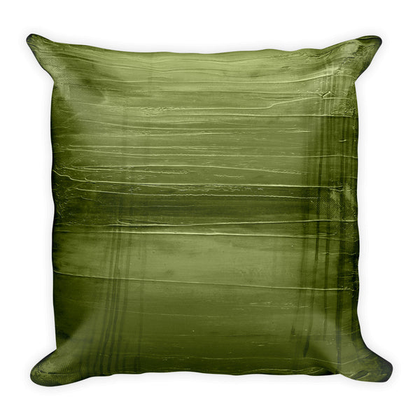 Hunter Green Throw Pillow - The Modern Home Co. by Liz Moran