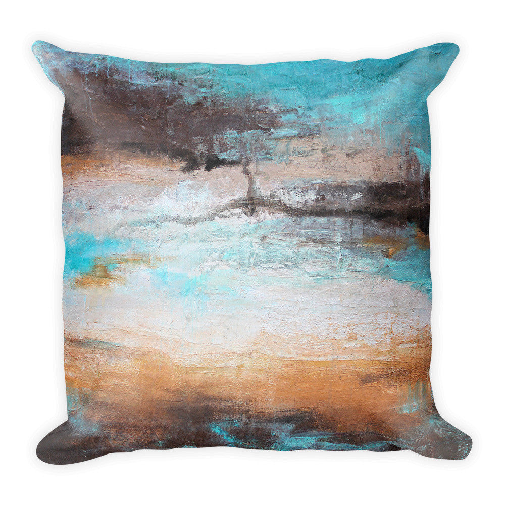 Sea Breeze - Contemporary Throw Pillow - The Modern Home Co. by Liz Moran