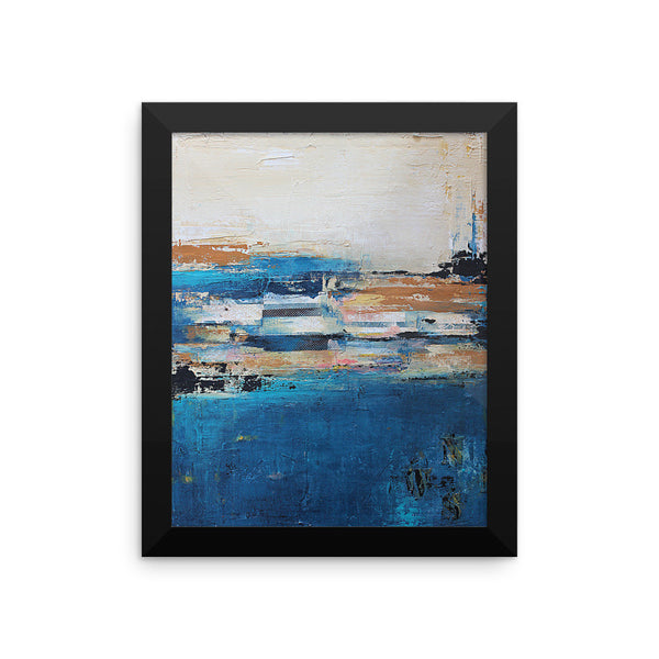 Nautical Impressions - Framed Poster Print - The Modern Home Co. by Liz Moran