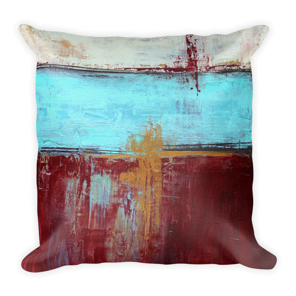 Patriotic - Red, White and Blue Pillow - The Modern Home Co. by Liz Moran