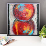 Zen Art - Framed poster - The Modern Home Co. by Liz Moran