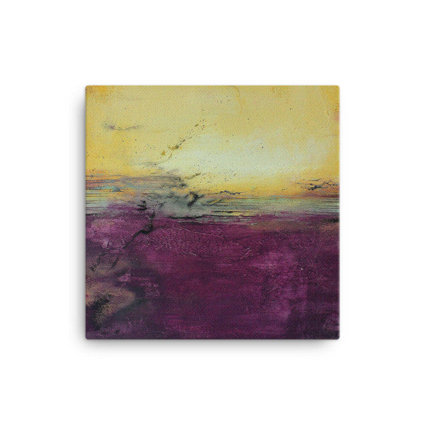 Purple Wall Art - Canvas Print - Square Art - The Modern Home Co. by Liz Moran