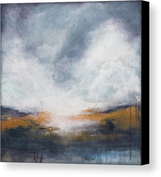 Morning Mist Canvas Print - The Modern Home Co. by Liz Moran