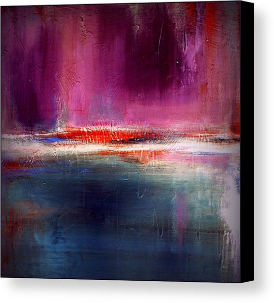 Purple and Blue Urban Canvas Print - Romance - Canvas Print - The Modern Home Co. by Liz Moran