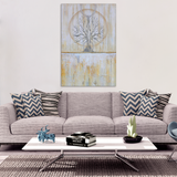 Solstice - Wrapped Canvas Print - The Modern Home Co. by Liz Moran