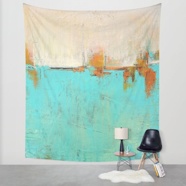 Sea of Whispers - Wall Tapestry - The Modern Home Co. by Liz Moran