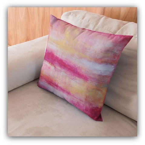 Sherbet - Modern Throw Pillow