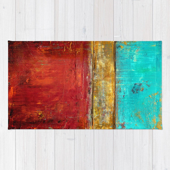 Super Whatever - Abstract Area Rug - The Modern Home Co. by Liz Moran