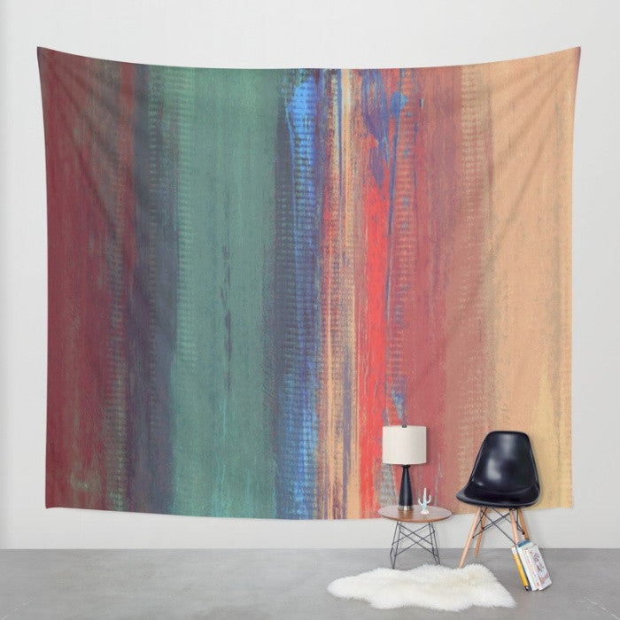 Pink, Purple and Teal Wall Tapestry - Afternoon Sky - The Modern Home Co. by Liz Moran