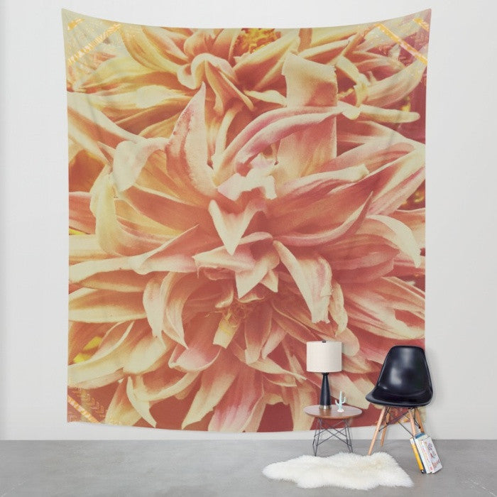 Boho Flower Wall Tapestry - The Modern Home Co. by Liz Moran