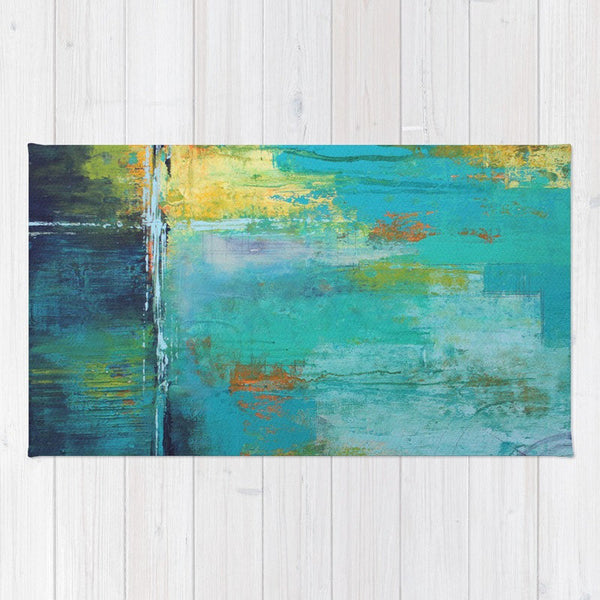 Tranquil Nights - Modern Area Rug - The Modern Home Co. by Liz Moran