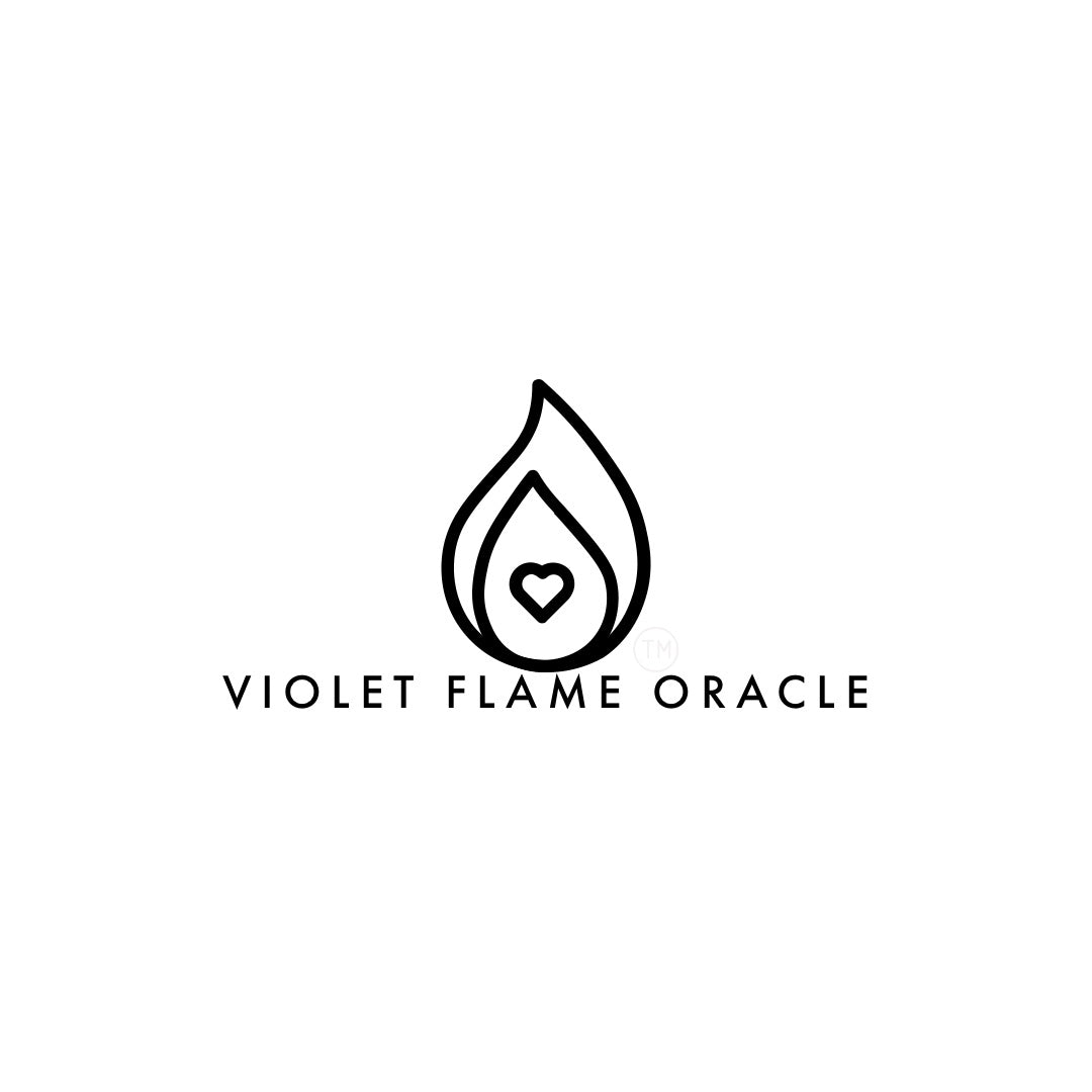 All Rights Reserved. Violet Flame Oracle LLC Logo