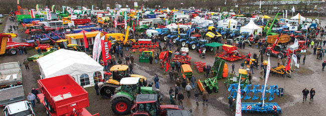 We'll be visiting the Yorkshire Agricultural Machinery Show in York on the 3rd Feb