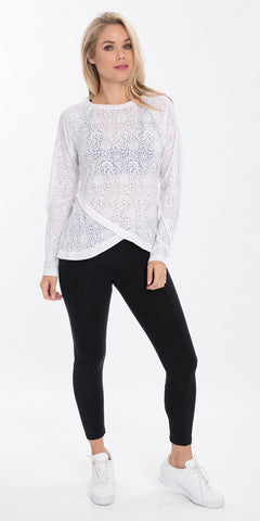 Burnout Top Long Sleeve