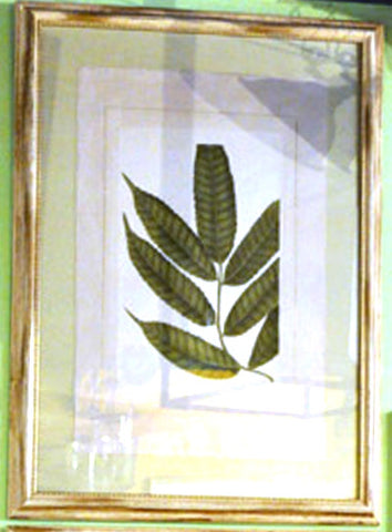 Green Leaves Botanical Print