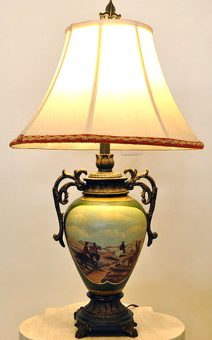 Urn-Style Table Lamp
