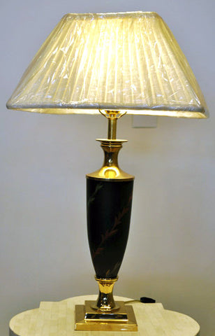 Tole Table Lamp