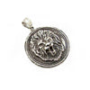 Sterling Lion Pendant by Moshe Ozery