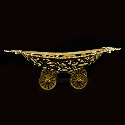 Vintage Brass Fruit Bowl