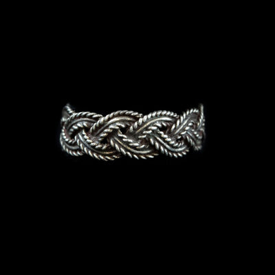 Braided Sterling Band