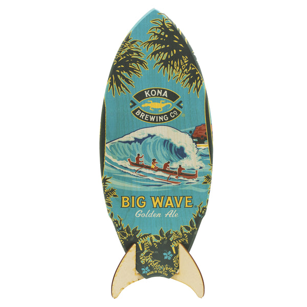 Big Wave Surfboard Sign