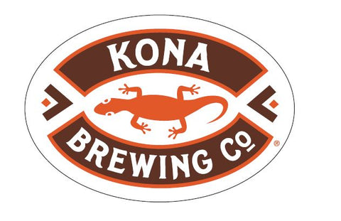 Kona Sticker - Brown