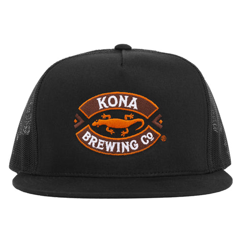 Kona Logo Trucker Hat - Black