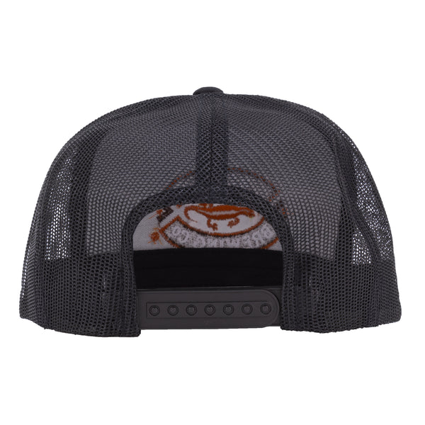 Kona Adjustable Trucker Hat - Black
