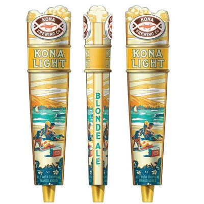 "Kona Light Tall Tap Handle (12"")"