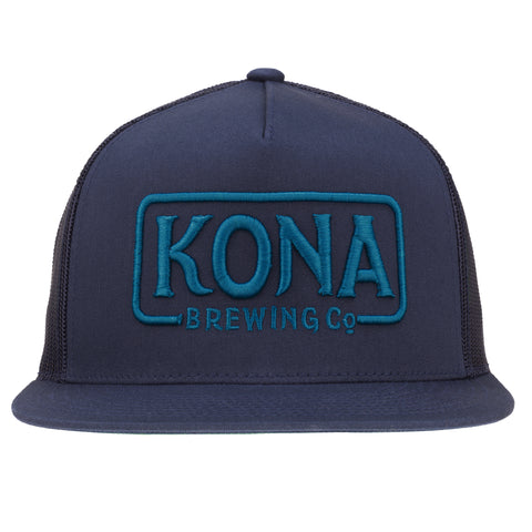 Kona Adjustable Trucker Hat – Navy / Blue
