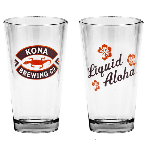 Liquid Aloha Pint Glass