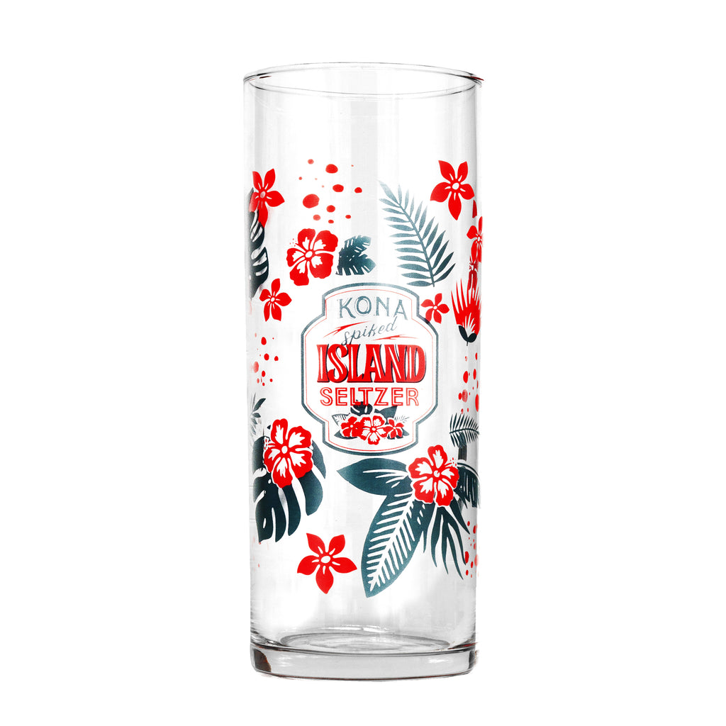 Kona Libbey Glass - Kona Spiked Island Seltzer Tropical Punch design